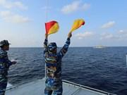 越泰两国海军力量举行联合巡逻