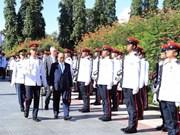新加坡总理李显龙举行隆重仪式  欢迎越南政府总理阮春福访问