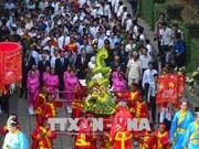 全国各地和旅居海外越南人隆重举行雄王始祖忌日祭祀活动