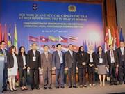 《东盟国家刑事法律援助协定》第八届高官会在河内举行