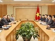 王廷惠副总理:希望美国驻越南商会为促进越美共同发展贡献力量
