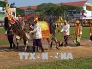 柬埔寨春耕节热闹开幕
