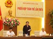 越南国会民族委员会第6次全体会议今日举行