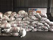 胡志明市海关局继续缴获非法进口的3.3吨穿山甲鳞片