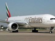 越南对阿联酋航空公司进口商品给予免税待遇
