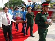 广平省举行在老牺牲越南志愿军烈士遗骸追悼会和安葬仪式