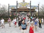 今年前4月承天顺化省国际游客到访量达75万人次