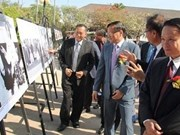 老挝总理出席老挝通讯社成立50周年庆祝活动