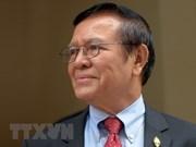 柬埔寨:二审法庭维持对支持被解散的反对党救国党的11名成员的判决