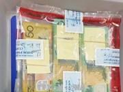 越南新山一海关连续查获非法携带巨额外币出境案