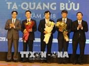 5·18越南科技日: 2018年谢光宝奖颁奖仪式在河内举行