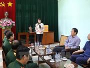 越南国家副主席邓氏玉盛:保卫胡志明主席遗体是无上光荣的任务