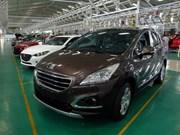 越南汽车整车进口数量和进口双下降