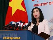 越南要求中国立即停止出动轰炸机在越南黄沙群岛开展训练