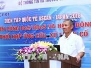 东盟与日本信息安全国际演习在河内举行