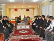 越南向柬埔寨祖国团结发展阵线赠送汽车和电脑