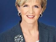 访越前夕澳大利亚外长朱莉·毕晓普受访谈澳越关系