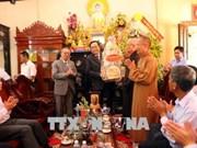 陈青敏佛诞大典率团走访慰问各省佛教协会教职人员
