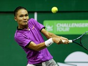 ATP最新排名:越南网球运动员郑灵江上升163位