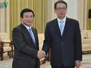 越南十分重视越中全面战略合作伙伴关系
