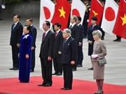 日媒密集报道越南国家主席陈大光访日之旅