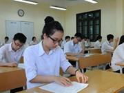 河内市为2018年高中会考和高考统一考试做好准备