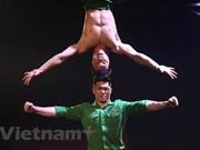 越南杂技在2018年《英国达人秀》决赛上让观众和评审惊呼连连