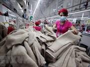 越南纺织品服装保持传统出口市场的稳定增长