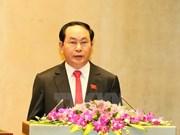 越南领导人致电祝贺瑞典国庆日