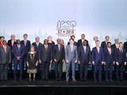 阮春福出席七国集团峰会扩大会议 提出许多建议和倡议