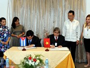 越南电视台和越南之声广播电台加强与古巴合作关系