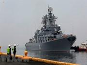俄罗斯军舰访问菲律宾