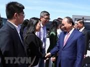 政府总理阮春福结束出席七国集团峰会扩大会议之旅