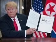 越南欢迎并高度评价美朝首脑会谈结果