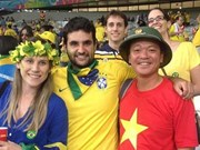 2018年世界杯:越南球迷整装待发前往现场助威