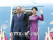越南政府总理阮春福圆满结束ACMECS和CLMV两峰会之行