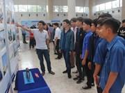 越南海洋岛屿:海洋岛屿和海军战士图片展在西宁省开展