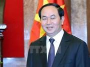 越南国家领导人向莫桑比克共和国总统致贺电
