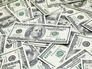 25日越盾兑美元中心汇率较上周下降5越盾