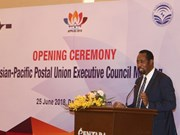 2018年亚太地区邮政联盟执行理事会年会在岘港市举行