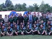 越南被联合国选为维和部队的训练场所