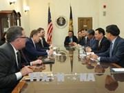 王廷惠美国之行:进一步加强越美经贸投资关系
