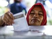 印度尼西亚举行地方首长选举