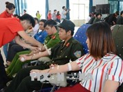 2018年红色行程共采集血液9300个单位