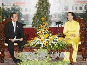 促进胡志明市与日本福冈县多领域合作关系