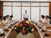 越南祖国阵线中央委员会主席陈青敏莅临永福省调研
