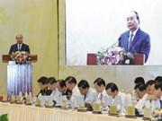 政府总理阮春福主持召开政府与各地方视频会议