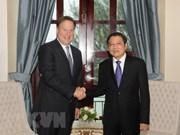 越南共产党代表团访问巴拿马