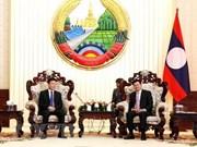 老挝领导人高度评价老越两国司法部合作成果