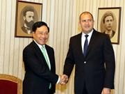 越南政府副总理兼外长范平明对保加利亚进行正式访问